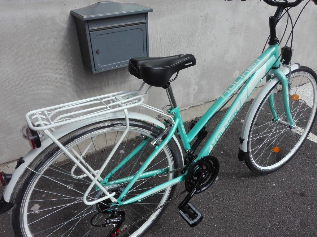 Új KOLIKEN GISU türkiz Női 28″ kerékpár!