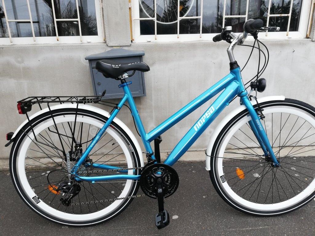 Új NOPSA highway 28″ Női tárcsafékes aluvázas kerékpár!