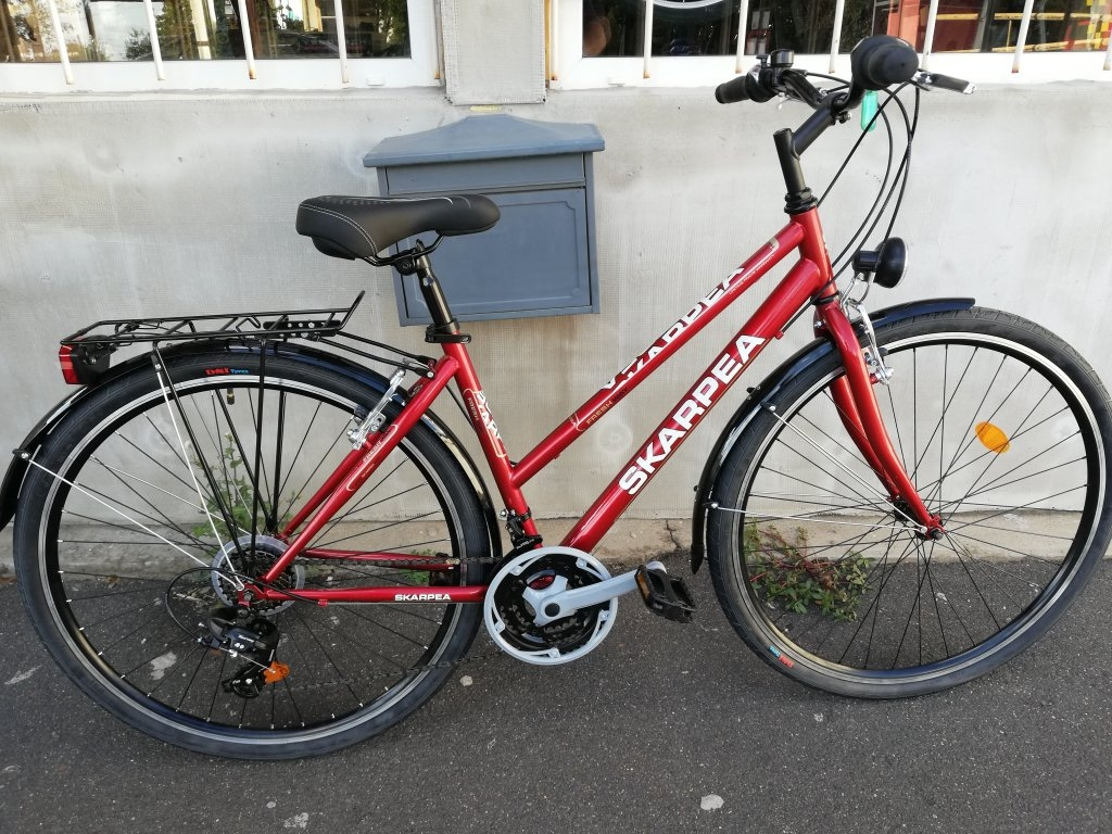 Új SKARPEA BORDÓ 28″ Női kerékpár!