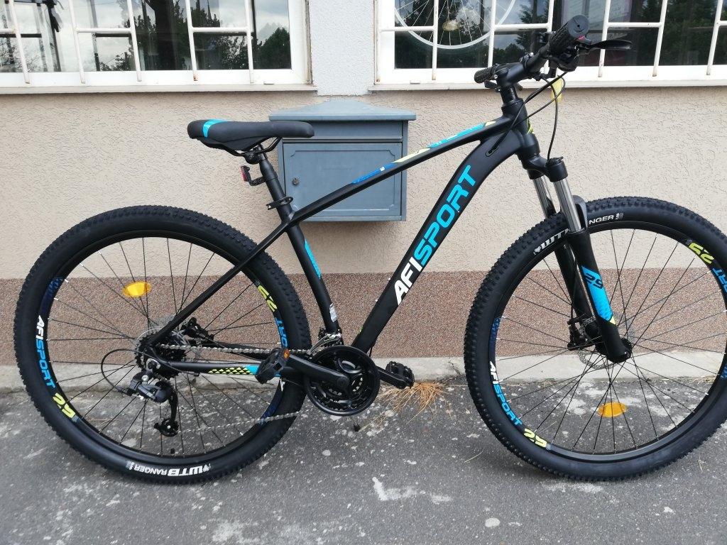 Új AFISPORT 29″ ffi aluvázas tárcsafékes kerékpár!