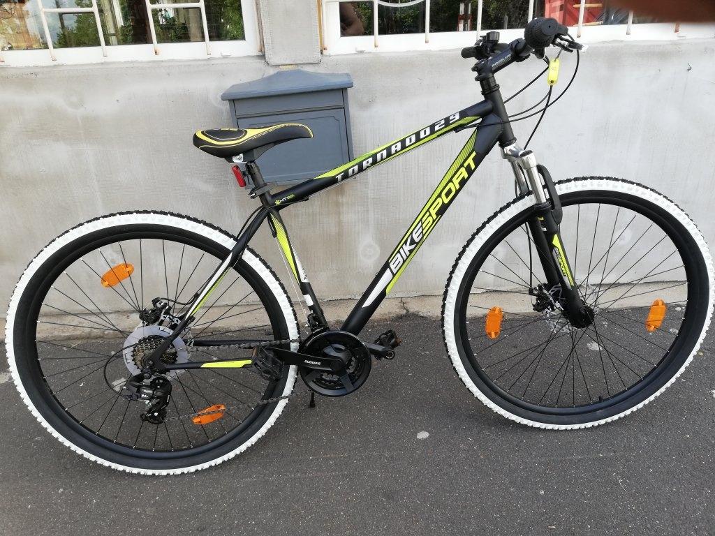 Új BIKESPORT TORNADO 29″ ffi tárcsafékes kerékpár!