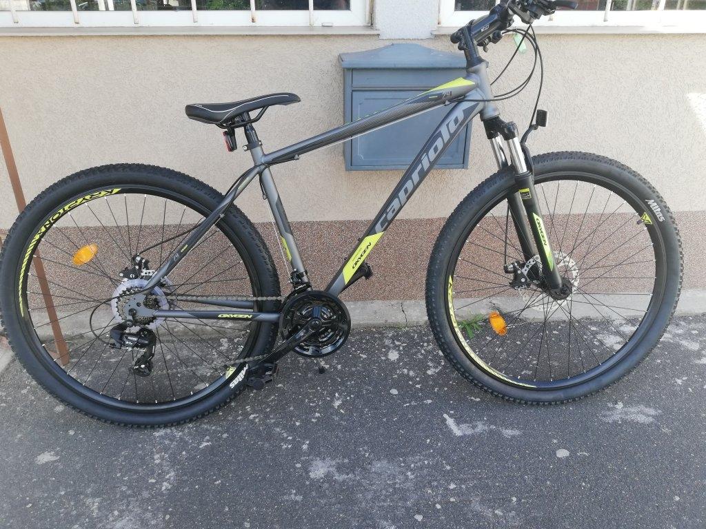 Új CAPRIOLO OXYGEN 29″ ffi tárcsafékes kerékpár!