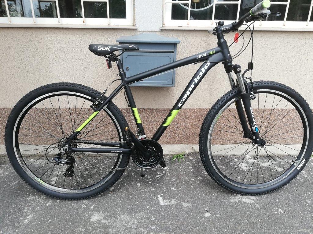 Új CAPRIOLO LEVEL 9.1 29″ ffi aluvázas kerékpár!