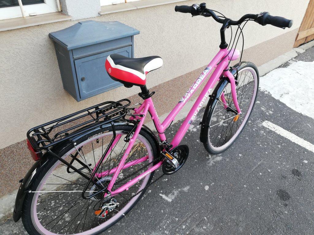Új SKARPEA pink 28″ Női aluvázas kerékpár!